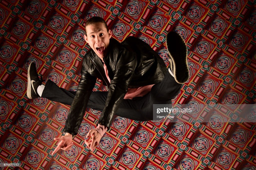 Figure skater Jason Brown poses for a portrait during the Team USA PyeongChang 2018 Winter Olympics portraits on April 28, 2017 in West Hollywood, California.