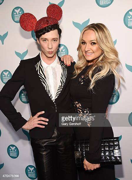 Figure skater Johnny Weir and Guest attend The 7th Annual Shorty Awards on April 20 2015 in New York City