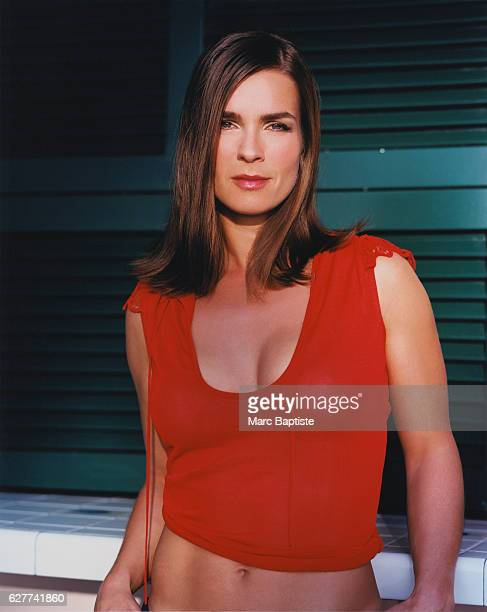 Figure Skater Katarina Witt in Red Top