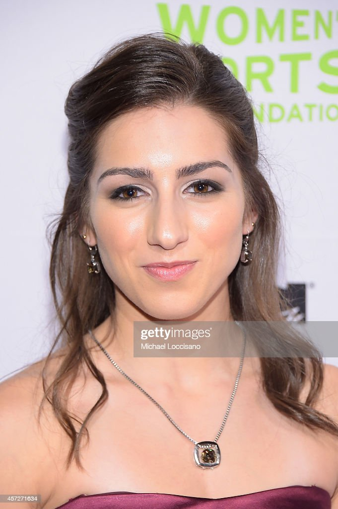 Figure Skater <a gi-track='captionPersonalityLinkClicked' href=/galleries/search?phrase=Marissa+Castelli&family=editorial&specificpeople=6702347 ng-click='$event.stopPropagation()'>Marissa Castelli</a> attends the Women's Sports Foundation's 35th Annual Salute to Women In Sports awards, a celebration and a fundraiser to ensure more girls and women have access to sports, at Cipriani Wall Street on October 15, 2014 in New York City.