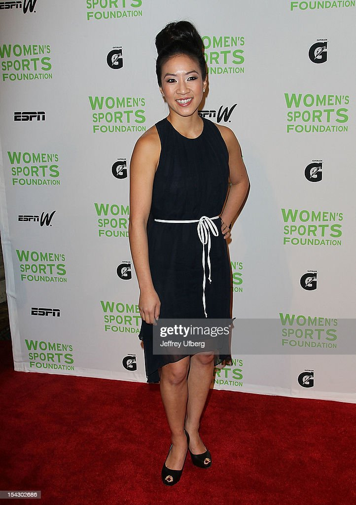 Figure skater Michelle Kwan attends the 33rd Annual Salute To Women In Sports Gala at Cipriani Wall Street on October 17, 2012 in New York City.