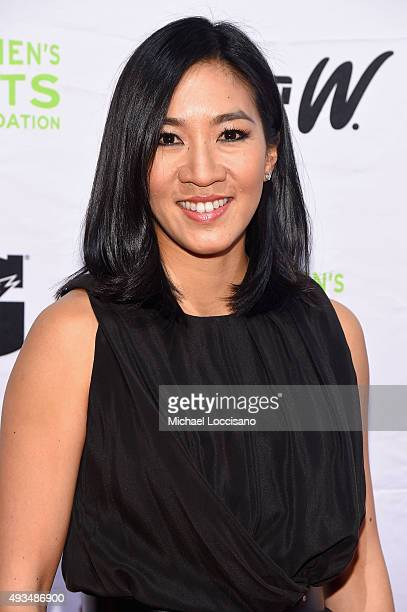 Figure Skater Michelle Kwan attends the 36th Annual Salute to Women In Sports at Cipriani Wall Street on October 20 2015 in New York City