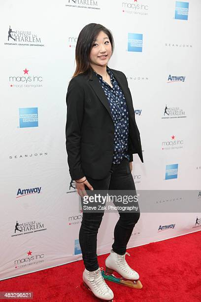 Figure skater Mirai Nagasu attends the Skating with the Stars Gala at Trump Rink at Central Park on April 7 2014 in New York City