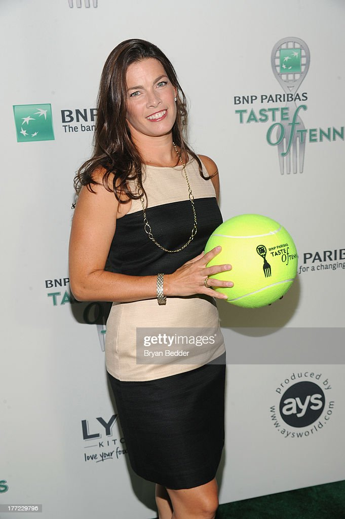 Figure Skater <a gi-track='captionPersonalityLinkClicked' href=/galleries/search?phrase=Nancy+Kerrigan&family=editorial&specificpeople=220298 ng-click='$event.stopPropagation()'>Nancy Kerrigan</a> attends the 14th Annual BNP Paribas Taste Of Tennis at W New York Hotel on August 22, 2013 in New York City.