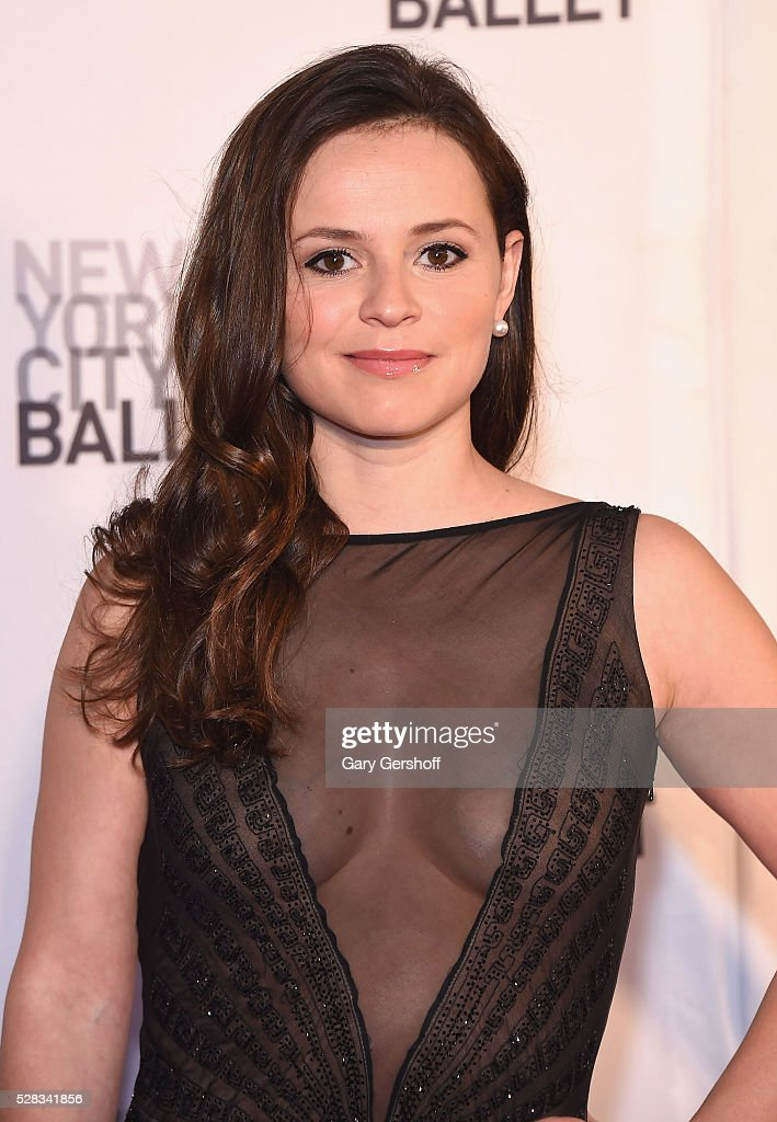 Figure skater Sasha Cohen attends the 2016 New York City Ballet Spring Gala at David H. Koch Theater at Lincoln Center on May 4, 2016 in New York City.