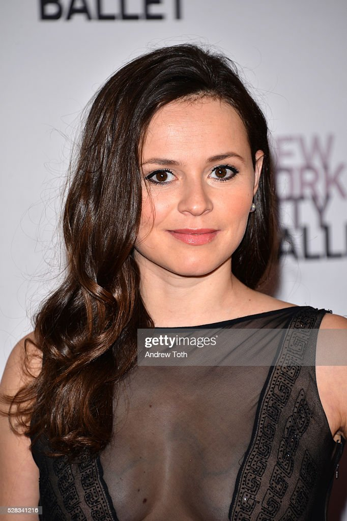 Figure skater Sasha Cohen attends the New York City Ballet's Spring Gala on May 04, 2016 in New York, New York.