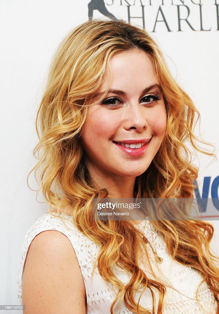 Figure skater Tara Lipinski attends the 2013 Skating with the Stars Benefit Gala at Trump Rink at Central Park on April 8, 2013 in New York City.