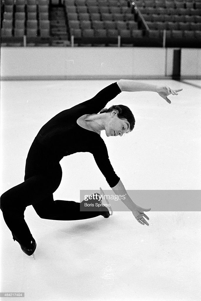 Figure skater Toller Cranston. Photo taken by Boris Spremo/Toronto Star Oct. 27, 1979.