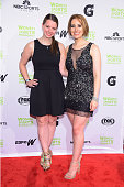Figure Skaters Emily Hughes and Sarah Hughes attend the Women's Sports Foundation's 35th Annual Salute to Women In Sports awards a celebration and a...