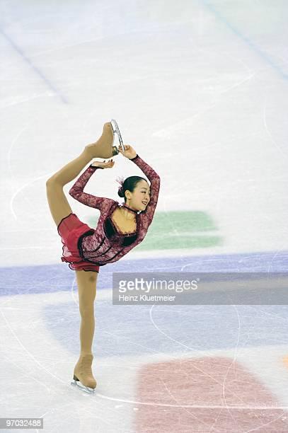 2010 Winter Olympics Japan Mao Asada in action during Women's Short Program at Pacific Coliseum Vancouver Canada 2/23/2010 CREDIT Heinz Kluetmeier