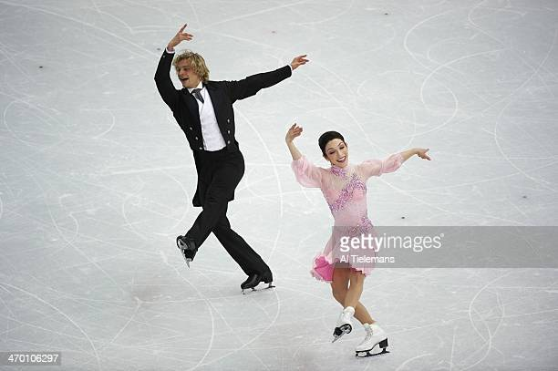 2014 Winter Olympics USA Meryl Davis and Charlie White in action during Ice Dance Short Dance at Iceberg Skating Palace Sochi Russia 2/16/2014 CREDIT...
