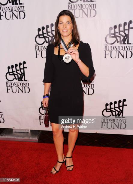 S figure skating champion Nancy Kerrigan attends the 26th Annual Great Sports Legends Dinner to benefit the Buoniconti Fund To Cure Paralysis at The...