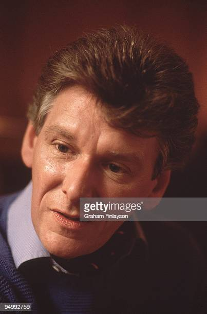 Closeup portrait of Bobby Thompson coach of ice dancers Great Britain Jayne Torvill and Christopher Dean Oberstdorf West Germany 9/30/1983 CREDIT...