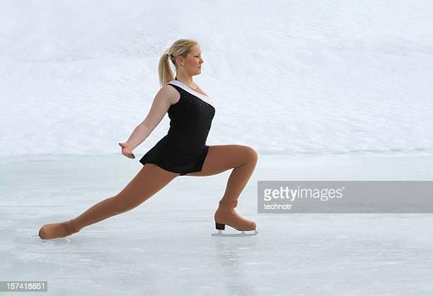 Eiskunstlauf auf Natur Eis