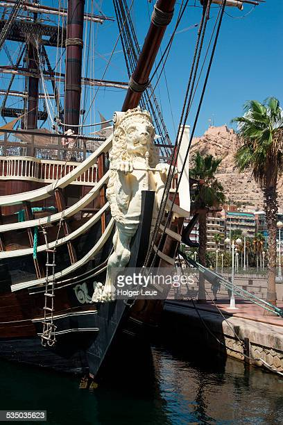 Figurehead of sailing ship Santisima Trinidad