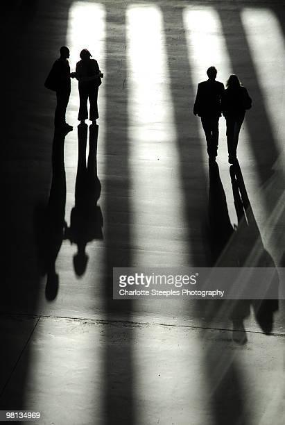 Figures in the Turbine Hall, Tate Modern
