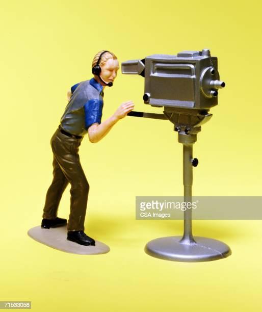 Figurine of a Cameraman