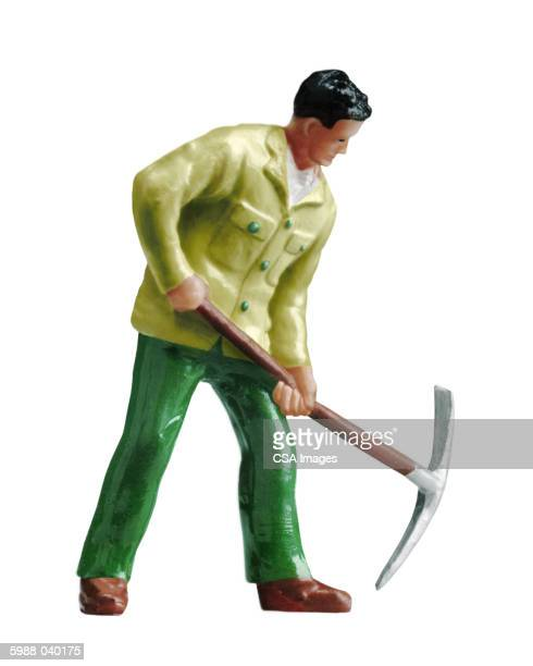 Figurine of Man with Pickax
