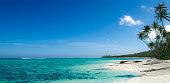 Magazine quality level top beautiful beach of Fiji island