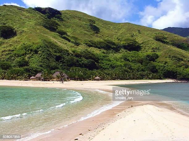 Fiji island seascape