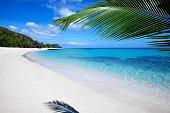 Beautiful Fiji Yasawa Island Beach