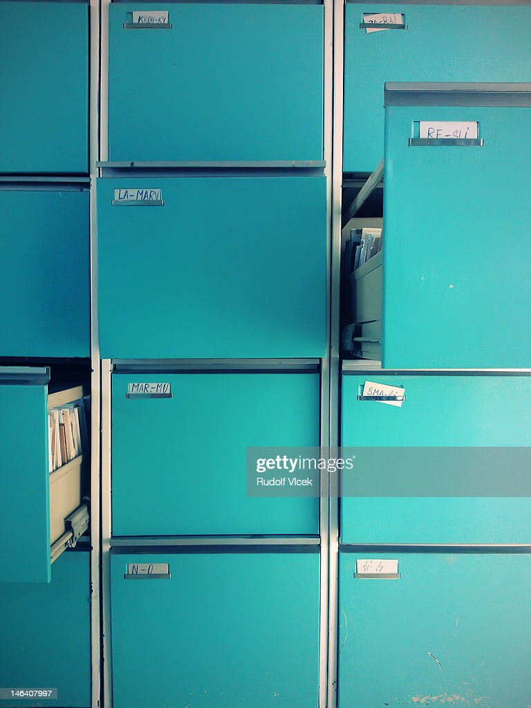 File Cabinet : Stock Photo