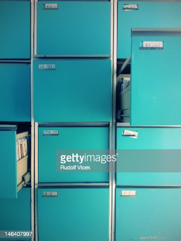 File Cabinet : Stock Photo
