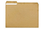 File Folder Made of 100 Percent Recycled Fiber With Document