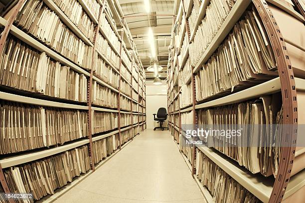 File Folders in a archive