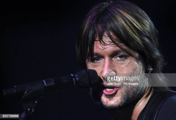 File image dated of Keith Urban husband of Nicole Kidman performing in concert at the Shepherds Bush Empire in west London