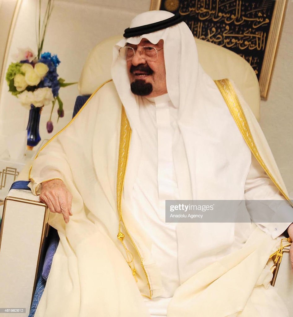 CAIRO, EGYPT - (FILE PHOTO) A file photo dated 21 June 2014 shows Saudi King Abdullah bin Abdelaziz in Cairo, Egypt. Saudi King Abdullah (90) who has ben recently suffered lung infection, has passed away and his Crown Prince Salman has been declared the new monarch. In a statement carried by the Saudi TV in the early hours of Friday, the Saudi Royal Court announced the death of King Abdullah.