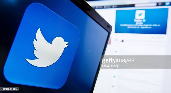 File photo dated September 11 2013 shows the logo of the social networking website 'Twitter' displayed on a computer screen in London The San...