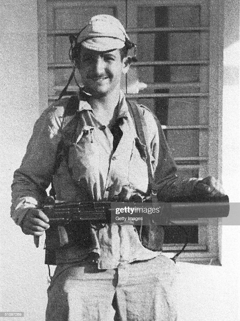 Ehud Barak As The A Team Commander In The Special Unit 'Matkal', Before An Operation.