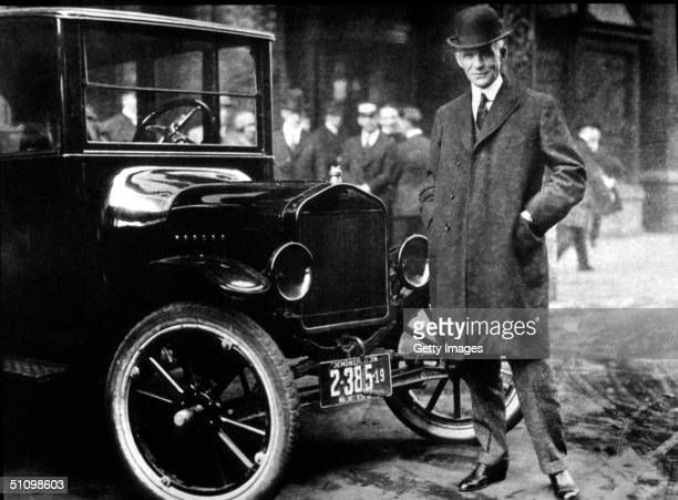 Henry Ford With His Model T