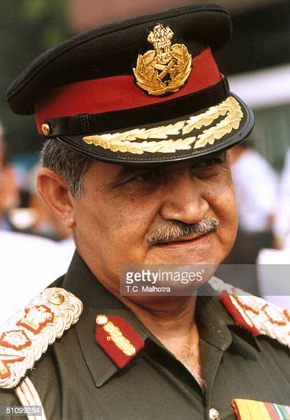Indian Chief Of Army Staff VP Malik During A Press Conference In New Delhi On May 181998