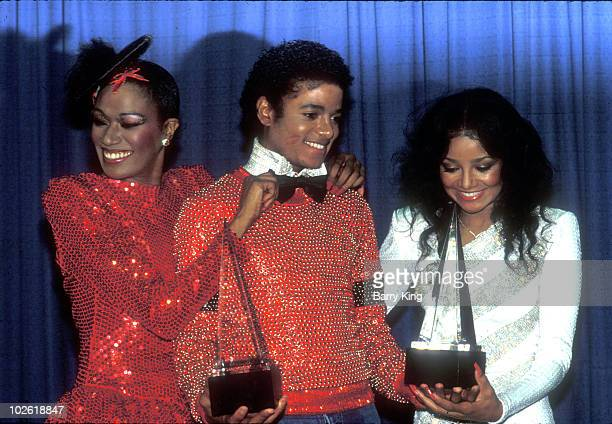 1981 file photo of Bonnie Pointer Michael Jackson his sister LaToya Jackson at the American Music Awards