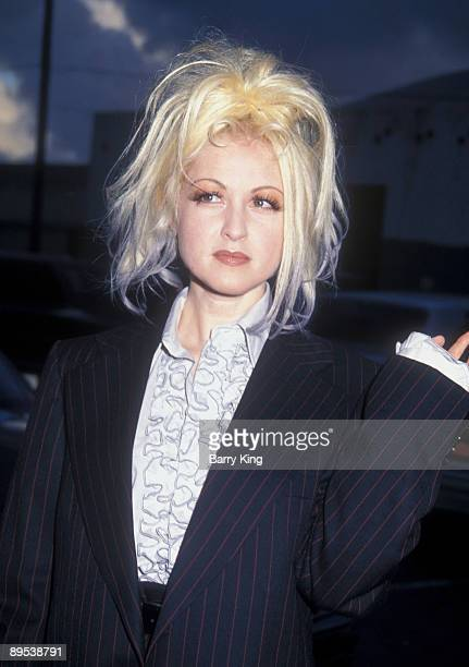 1991 file photo of Cyndi Lauper at the American Music Awards