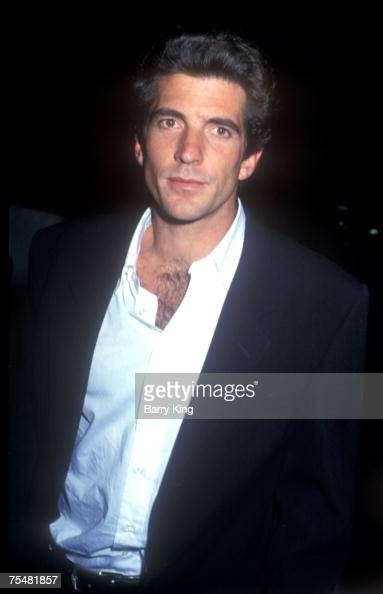 1993 file photo of John F Kennedy Jr at the Various Venues in Los Angeles California