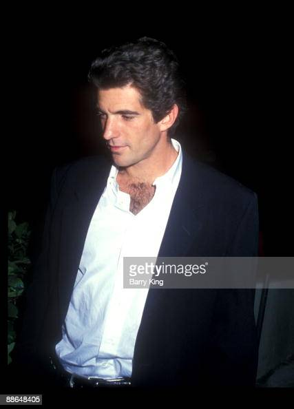 1993 file photo of John F Kennedy Jr