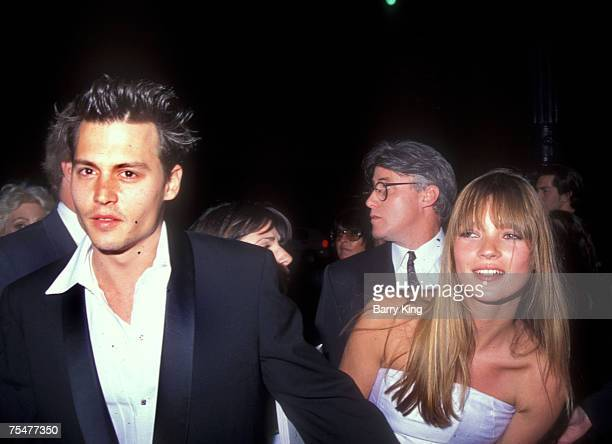 1995 file photo of Johnny Depp Kate Moss in Los Angeles California