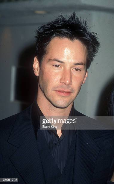 1999 file photo of Keanu Reeves at 'The Matrix' premiere