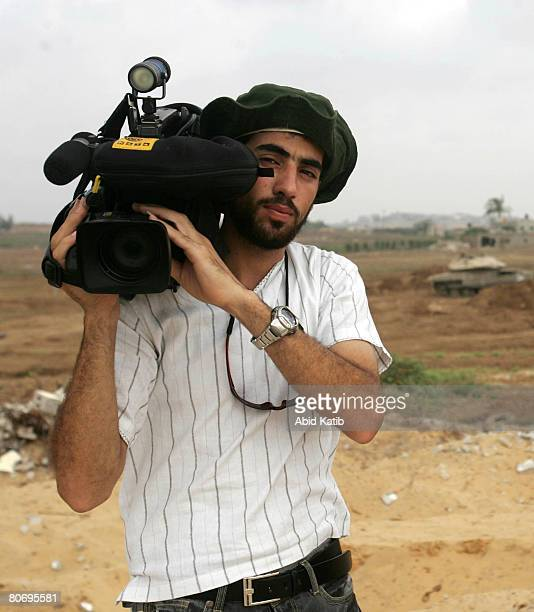 A file photo of Reuters cameraman Fadel Shaana July 29 2007 Shaana was killed after his car hit by an Israeli missile on April 16 2008 in the central...