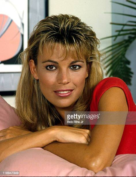 File Photo of Vanna White at her home in Los Angeles Calif taken 9/7/85