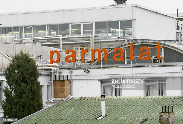 A file photo taken 10 January 2004 shows a view of the Italian food giant's main factory Parmalat in Collecchio near Parma Bankrupt Italian food...
