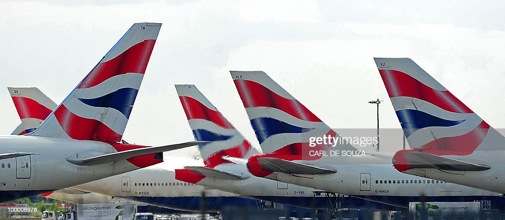 A file photo taken on May 17, 2010 show's British Airways (BA) aircraft sit on the tarmac at Heathrow Airport in west London. The union representing British Airways cabin crew won an appeal on Thursday May 20, 2010, against a court injunction which prevented planned new strike action from going ahead. British Airways had succeeded on Monday in obtaining an injunction blocking a five-day strike, which had been due to start within hours, by arguing the Unite union's ballot of its members was faulty.