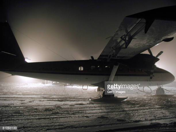File Photo The Aircraft And Crew Of The Twin Otter Arrive At The Nsf's AmundsenScott South Pole Station To Provide Medical Supplies April 24 For The...