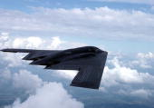 The B2 Stealth Bomber Made Its Combat Debut March 24 Dropping 2000Pound SatelliteGuided Bombs On Targets In Yugoslavia The Missions Came More Than A...