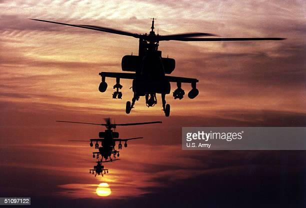 The US Army Identified The Two Crewmen Killed In The Crash Of An Apache Attack Helicopter In Albania As Chief Warrant Officers David A Gibbs And...