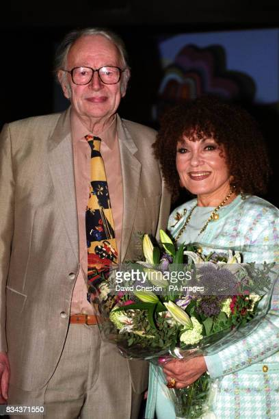 File photop dated of Humphrey Lyttelton with jazz singer Cleo Laine Lyttelton has died it was announced tonight
