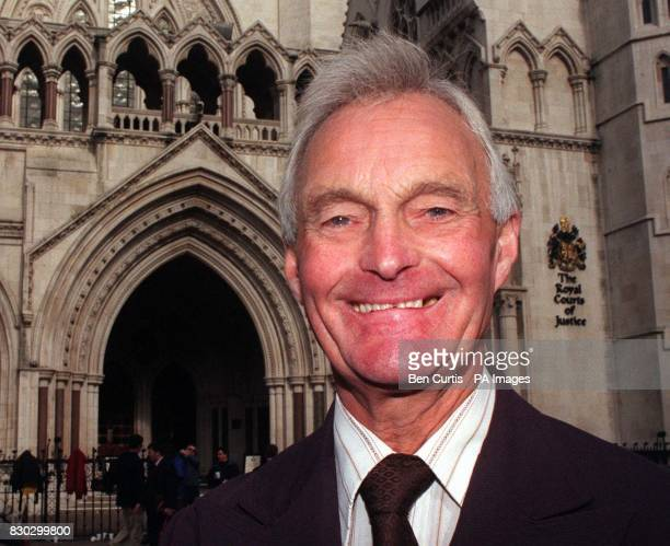 File picture dated 9/10/98 of 64yearold retired postman John Taylor who Thursday December 16th 1999 won his case in the European Court of Justice...